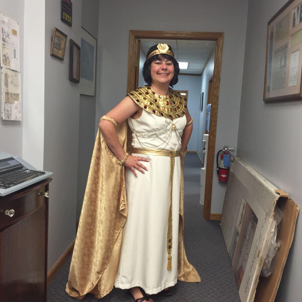 The Insurance Goddess at Alan Galvez Insurance Customer Appreciation event 2015