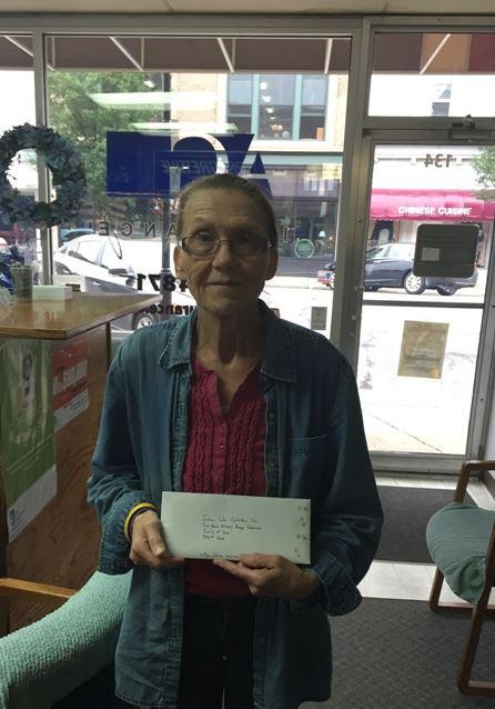 2015 Alan Galvez Insurance customer appreciation event- door prize winner