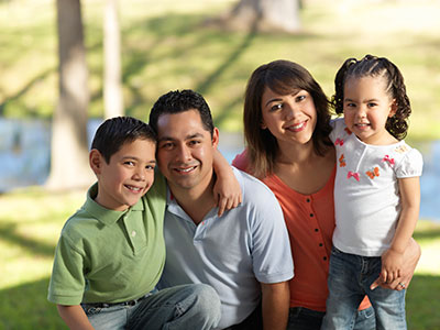 family with life insurance in clifton park