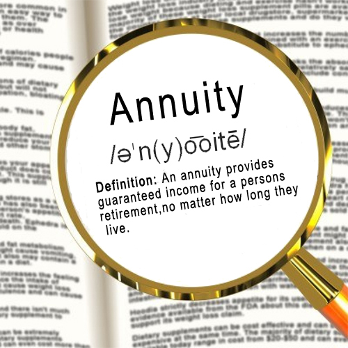 definition of annuity image from AIM, Inc.