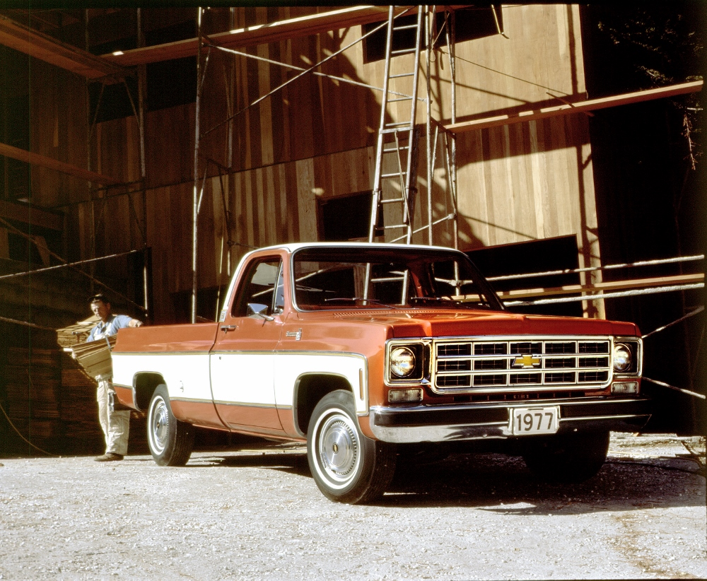 1977 Chevy C-10 Silverado Fleetside