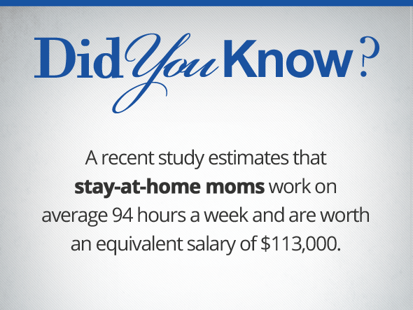 Why Do Stay at Home Moms Need Life Insurance?