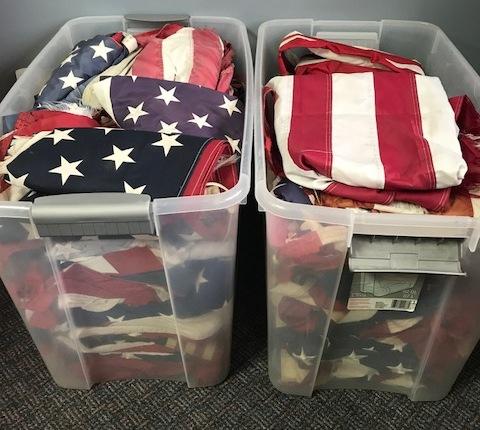 Alan Galvez Insurance- Bellefontaine Ohio- Honor Our Flag Days- Flag Exchange- Community Events