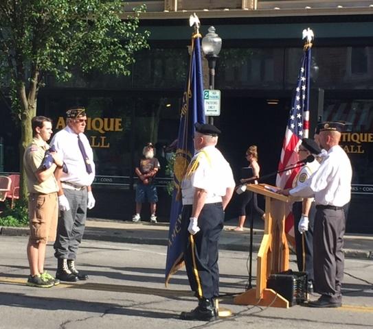 2017 Honor Our Flag Days- Unserviceable Flag Ceremony- Alan Galvez Insurance