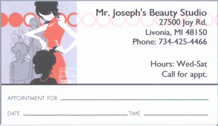 Mr Joseph's