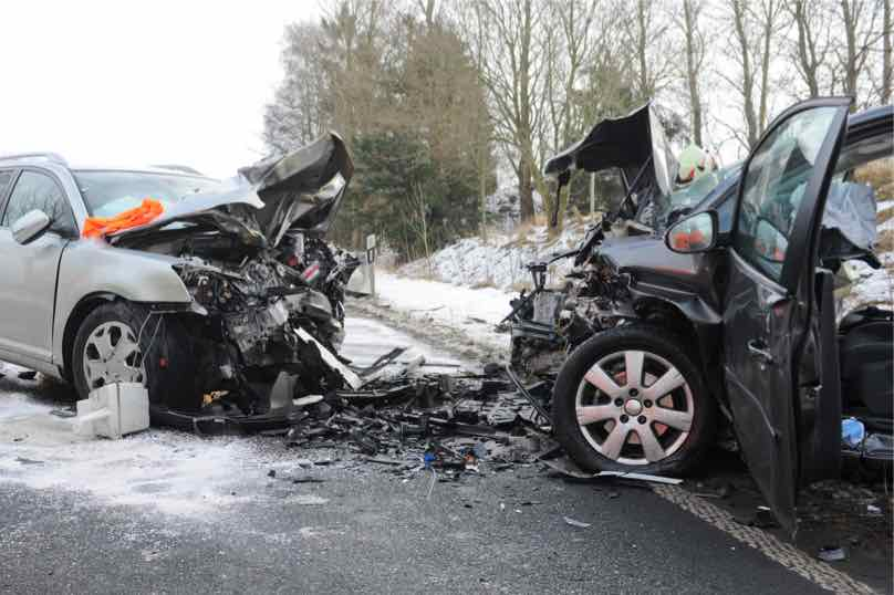 auto accident image in ohio