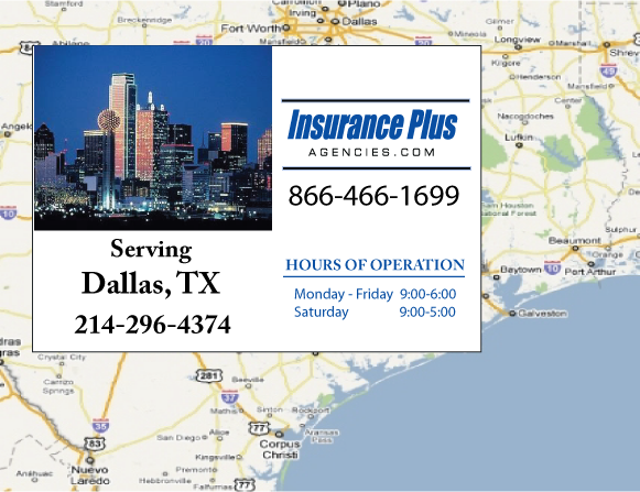 Insurance Plus Agencues of Texas (214) 296-4374 is your Unlicense Driver Insurance Agent in San Antonio, Texas
